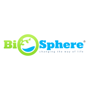 Biodegradable plastic additive manufacturers logo - BioSphere